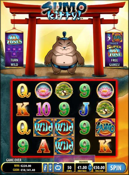 Sumo Kitty slot review
