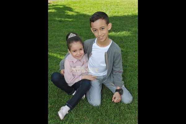 The Grown Prince Moualy El Hassan with his sister H R H Princess and flower our country Lalla Khadija