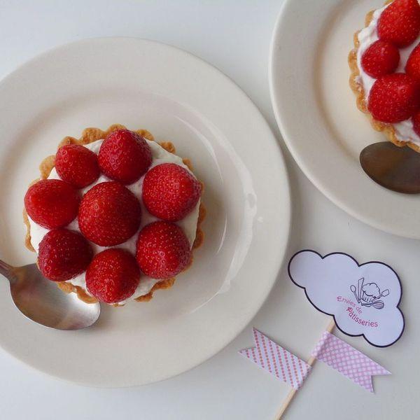 Tartelettes aux fraises �