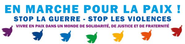 en Marche pour la Paix ! le 09 octobre à Lissac-sur-Couze