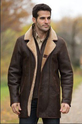 Genuine Leather Sheepskin Coats - Fashion genuine sheepskin ...