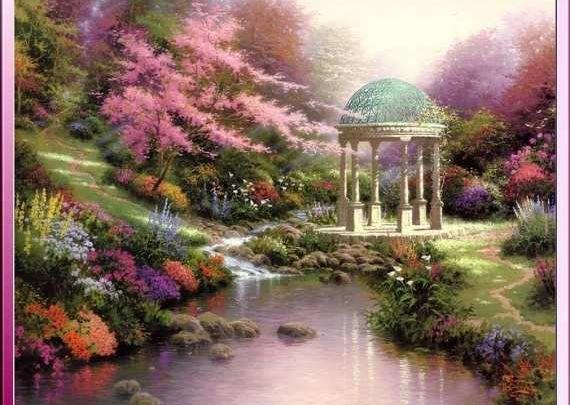 Les jardins imaginaires jardin d 39 alice aux pays des for Le jardin voyageur peter brown