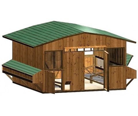 Chicken coop building plans house steps by steps how to for Poultry house plans for 100 chickens