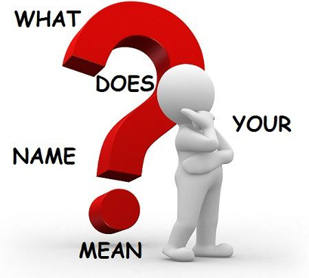 What Does My Name Mean -