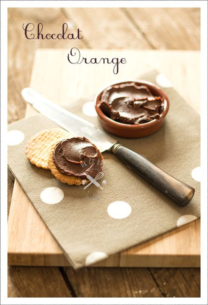 Pâte à tartiner choco-orange