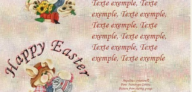 Happy Easter Incredimail & Papier A4 h l & outlook & enveloppe & 2 cartes A5 & signets   happy_easter_th_paque2