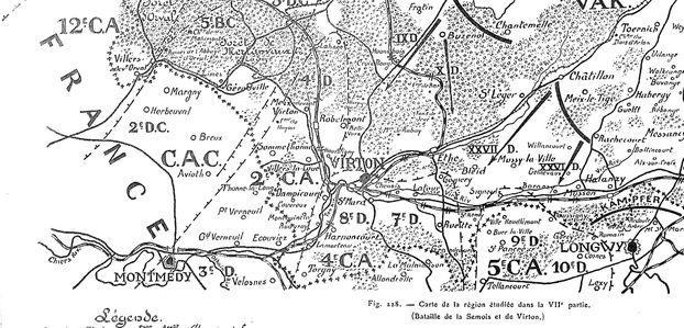LES AMBULANCES « OUBLIEES » DE BELGIQUE (Août-Septembre 1914) – En marge des combats de Virton, Rossignol, Bellefontaine, etc.