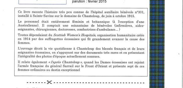 1915 CHANTELOUP. L'HOPITAL DES DAMES ECOSSAISES.