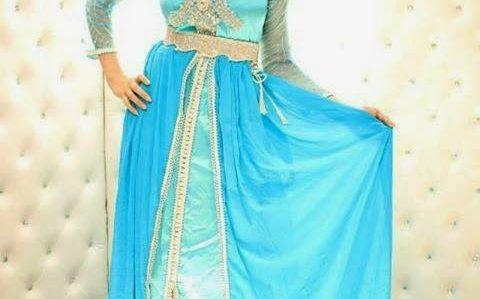 Caftan haute couture marocain et takchita