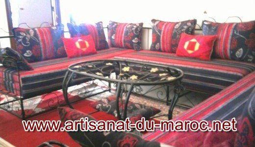 Achat de salon marocain : boutique de vente en ligne