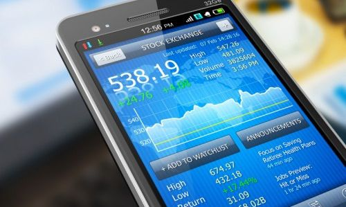 Comment  trader avec son Smartphone