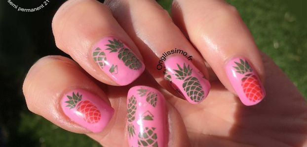 5 fruits et légumes en nail art !
