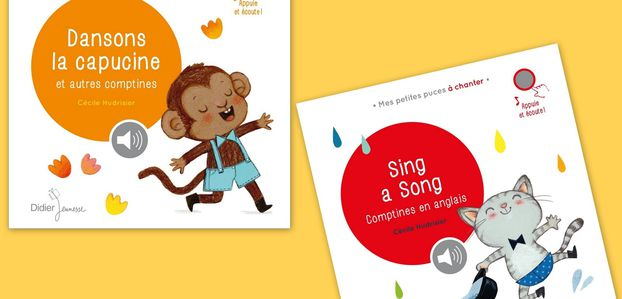 Dansons la capucine et autres comptines et Sing a Song: Comptines en anglais