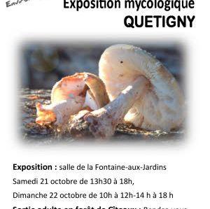 Exposition mycologique les 21 et 22 Octobre