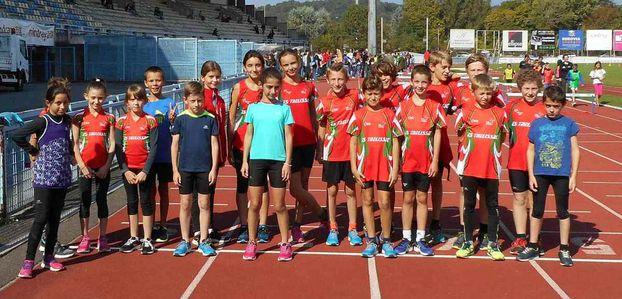 Bon début pour l'Ecole d'Athlétisme
