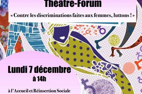 Représentation de théâtre « contre les discriminations faites aux femmes, luttons !»