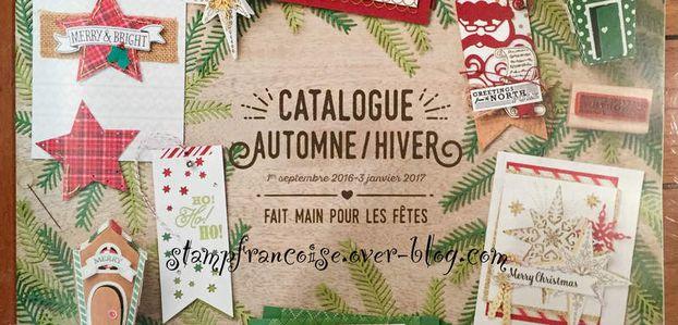 Porte Ouverte catalogue Automne Hiver Stampin Up 2016