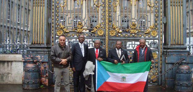 EL PARTIDO DEL PROGRESO Y LA COALICIÓN CORED EN EL PALACIO DE JUSTICIA EN PARIS.