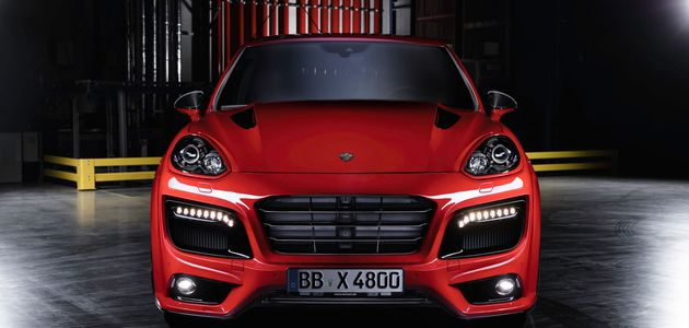ESSEN 2015, PORSCHE CAYENNE PAR TECHART