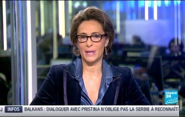[2012 10 31] ROSELYNE FEBVRE - FRANCE 24 - LE JOURNAL @05H45