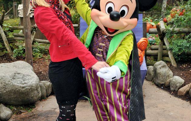 Disneyland en chaussures à talons