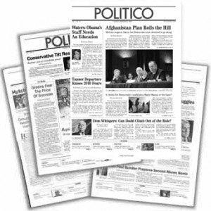 Politico lance un service payant à 1500$ / an