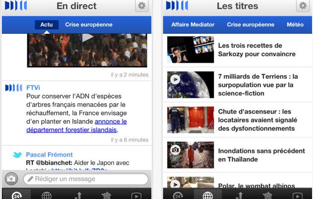 FranceTV Infos mise sur le temps-réel et supprime la homepage