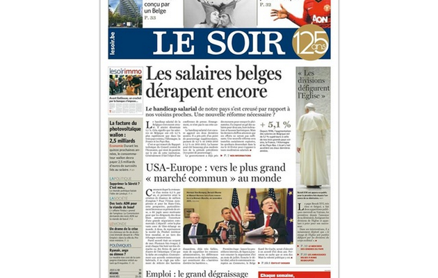 "La ""Google Newsroom"" du journal ""Le Soir"", mode d'emploi"