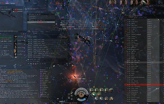 EVE Online : la plus grande bataille spatiale dans l'histoire du jeu vidéo est-elle un événement journalistique ?