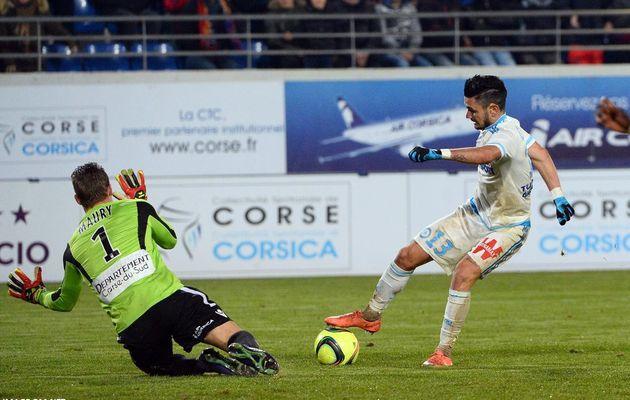 GFC Ajaccio 1-1 Marseille : Le résumé
