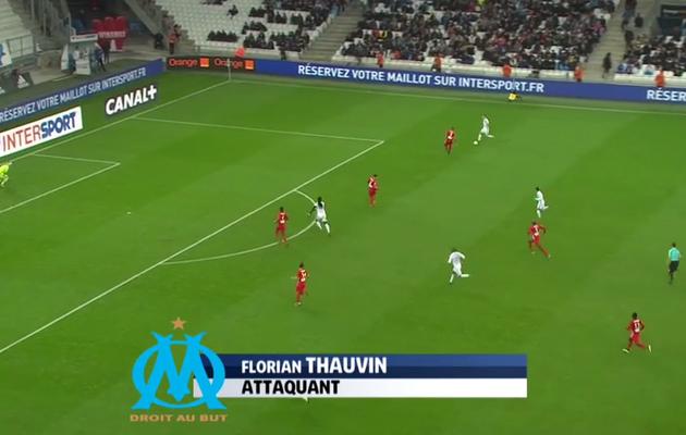 Florian Thauvin dans le top-buts de la 16ème journée