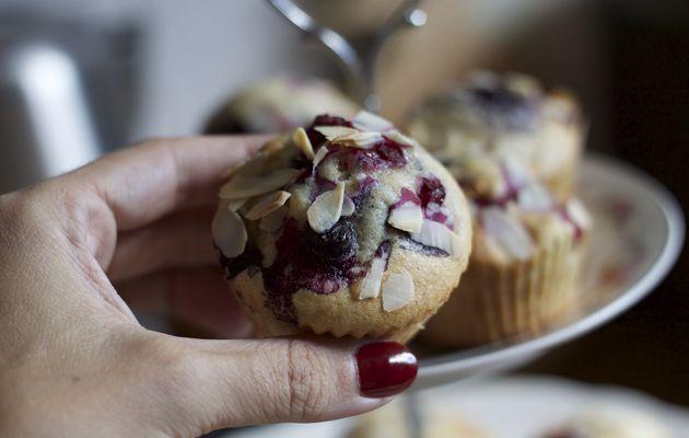 Recette #25: Cupcakes aux fruits rouges moelleux !