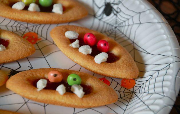 Goûter ambiance Halloween...à la campagne!