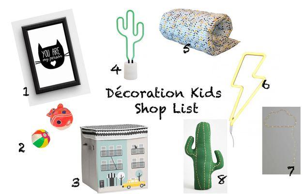 Shop list déco...des idées pour la chambre des Kids #21