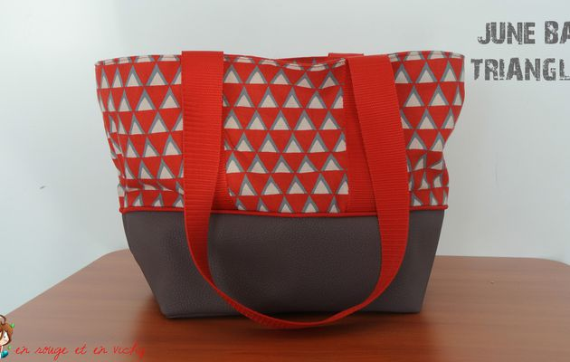 June Bag Triangles (défi CAP ou pas CAP inside)
