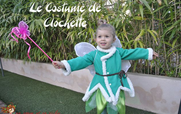 Son premier costume : En mode Clochette
