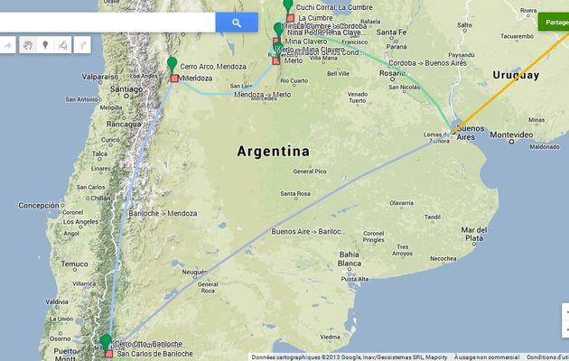 Trip Argentine Janvier 2014