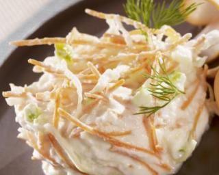 Salade de Coleslaw à la Faisselle