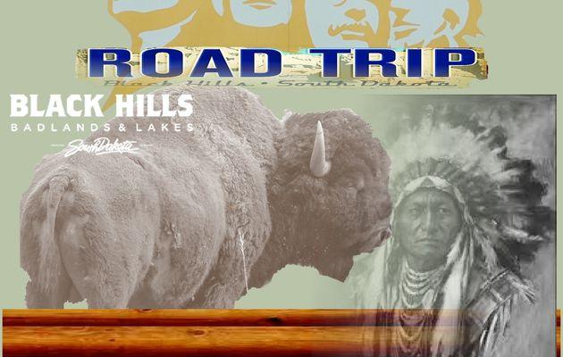 Quelque part dans le Dakota du Sud - Road Trip Black Hills
