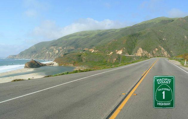 Les plus belles routes de l'Ouest Américain. La Highway 1