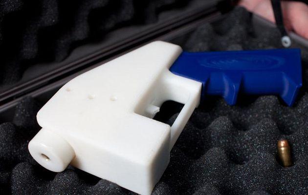 Tir réussi pour un pistolet imprimé en 3D