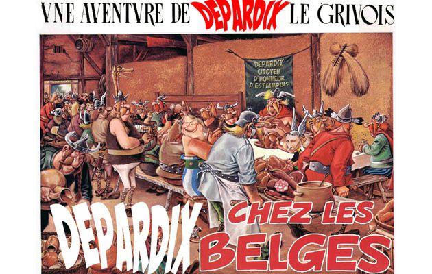 Hier, BBQ géant, à Néchin chez Depardieu !