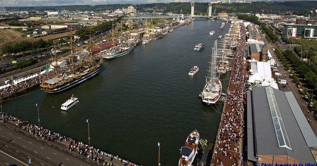 Dans 5 mois le plus grand voilier du monde en France !