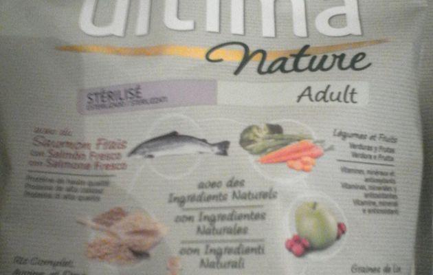 Ultima Nature avec des ingrédients naturels