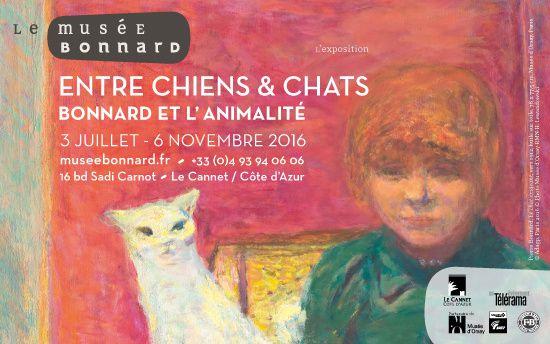 """Exposition au musée Bonnard """"Entre chiens & chats"""""""