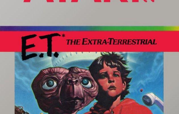Les cartouches exhumées de E.T. The Extra-Terrestrial