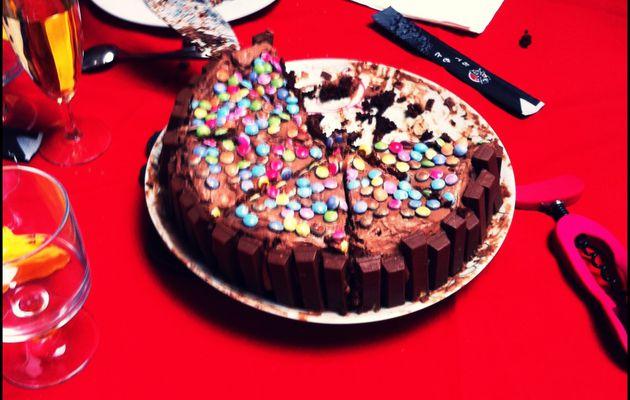 Layer Cake Chocolat Framboise !