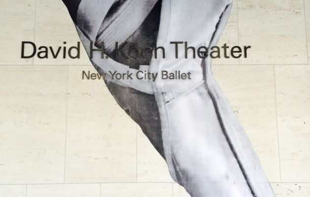 New York City Ballet par JR