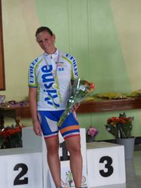 [Cyclosport] Anaïs VALIAVANOS, Championne Nationale CLM