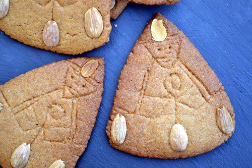 Saint Nicolas en Spéculoos - Sinterklaas Speculaas